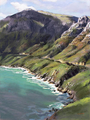 Pastel - Chapman's Peak Drive by Christopher Reid