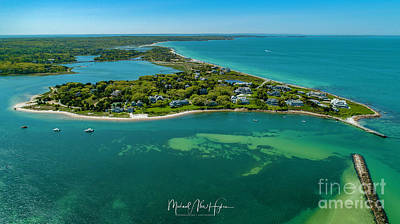 Photograph - Chapoquoit Island by Michael Hughes