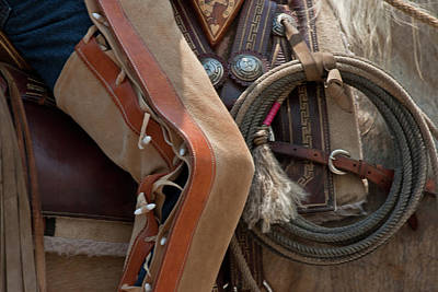 Photograph - Chaps And Rope Study 2 by Roger Mullenhour