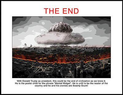 Digital Art - Chapter 20 The End by Joe  Palermo