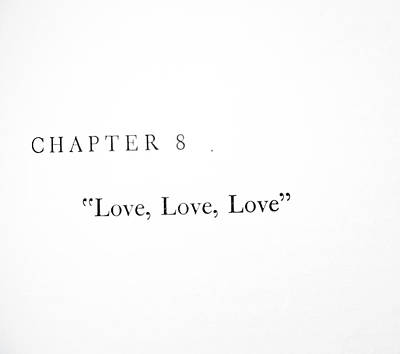 Chapter 8 Love Love Love Squared Art Print by Toni Hopper