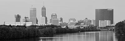 Photograph - Charcoal Indianapolis by Frozen in Time Fine Art Photography