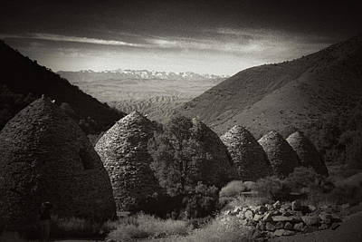Photograph - Charcoal Kilns  by Hugh Smith