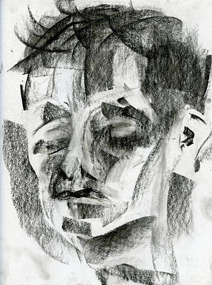 Painting - Charcoal Sketch by Edward Fielding