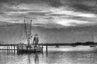 Photograph - Charcoal Sunset by Dave Bosse