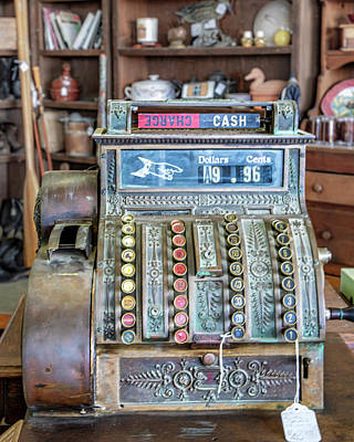 Photograph - Charge Or Cash by Gene Parks