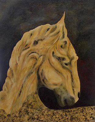 Painting - Charger by John Stuart Webbstock