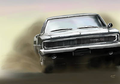 Painting - Charger by Pat Godfrey