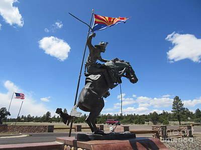 Charging Horse Statue Original