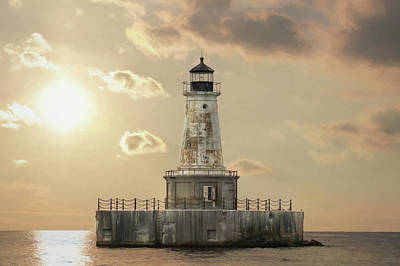 Photograph - Charity Shoal Lighthouse by Lori Deiter
