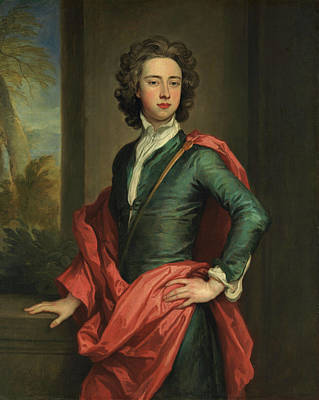 Kneller Painting - Charles Beauclerk, Duke Of St. Albans by Godfrey Kneller
