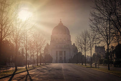 Photograph - Charles Borromeo Church Zentralfriedhof Vienna by Carol Japp