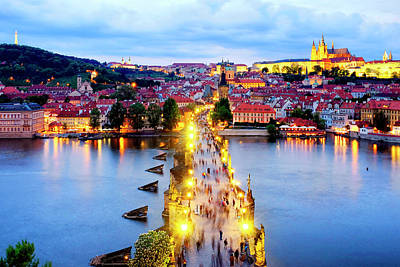 Photograph - Charles Bridge by Fabrizio Troiani