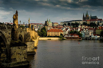 Photograph - Charles Bridge by M G Whittingham