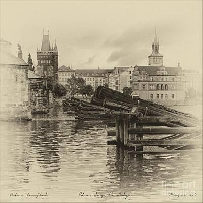 Charles Bridge Motif Art Print by Prague Art Prints