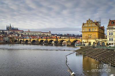 Prague Czech Republic Photograph - Charles Bridge by Nichola Denny
