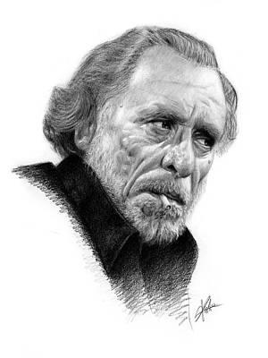 Charles Bukowski 1 Art Print