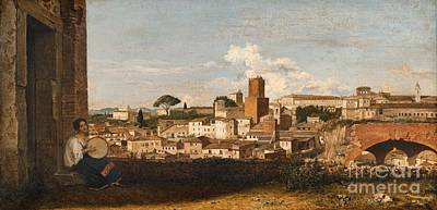 Victoire Painting - A View Of Rome by MotionAge Designs
