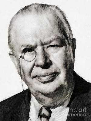 Musicians Royalty Free Images - Charles Coburn, Vintage Actor Royalty-Free Image by John Springfield
