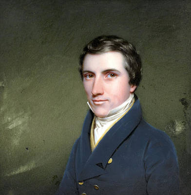 Cromwell Painting - Charles Cromwell Ingham by Benjamin Moore