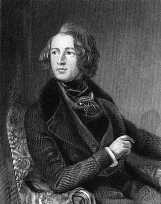 Charles Dickens (1812-1870) Art Print by Granger