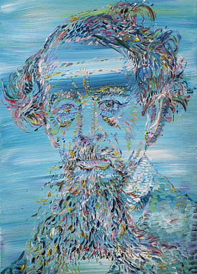 Dickens Painting - Charles Dickens - Oil Portrait by Fabrizio Cassetta