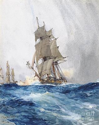 Charles Edward  Art Print