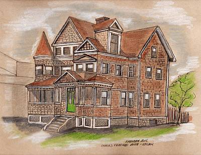 Charles Fairfield House Salem Art Print by Paul Meinerth