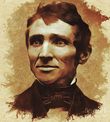 Tired Painting - Charles Goodyear, Inventor by Mary Bassett