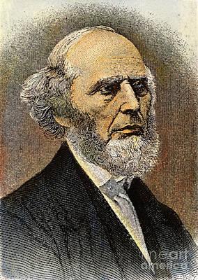 Charles Grandison Finney Art Print by Granger