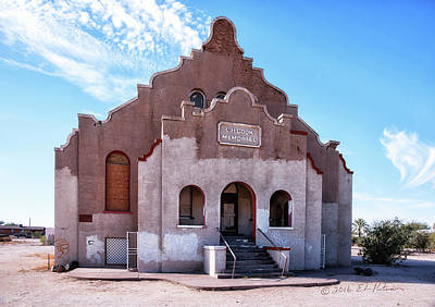 Photograph - Charles H. Cook Memorial Church by Edward Peterson