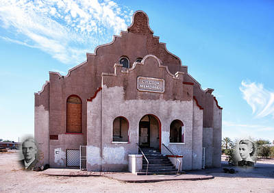 Photograph - Charles H. Cook Memorial Church In Sacaton Az by Edward Peterson