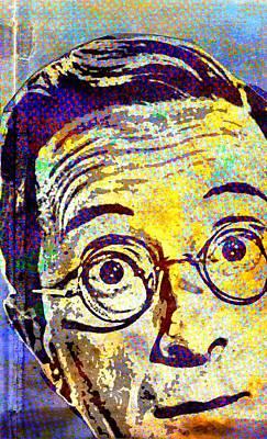 Frederick Mixed Media - Charles Hawtrey 2 by Otis Porritt