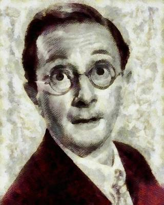 Charles Hawtrey, Carry On Actor Print by John Springfield