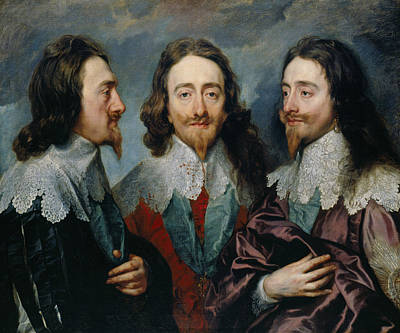 Painting - Charles I by Anthony van Dyck