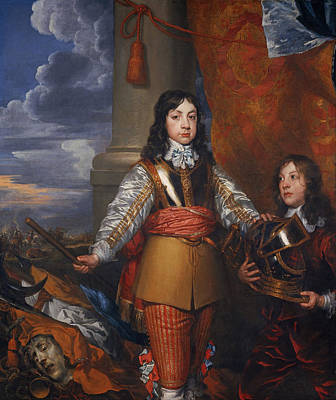 Charles II - King Of Scots And King Of England Art Print by Mountain Dreams