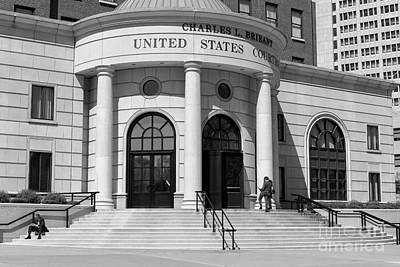 Photograph - Charles L. Brieant United States Courthouse II by Clarence Holmes