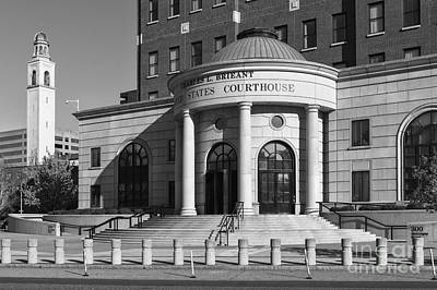 Photograph - Charles L. Brieant United States Courthouse Vi by Clarence Holmes