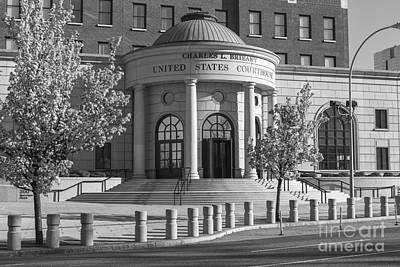Photograph - Charles L. Brieant United States Courthouse Viii by Clarence Holmes