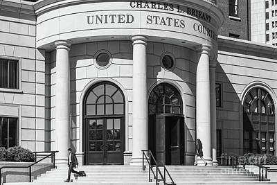 Photograph - Charles L. Brieant United States Courthouse Xii by Clarence Holmes