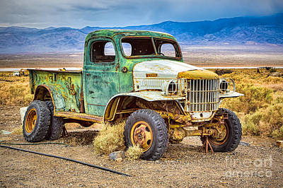 Charles Manson Photograph - The Charles Manson Forgotten Getaway Truck by Mimi Ditchie