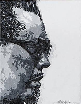 Painting - Charles Mingus by Jeleata Nicole