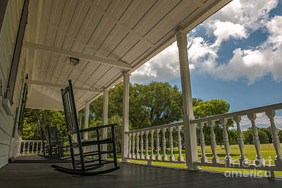 Photograph - Charles Pinckney House Porch by Dale Powell