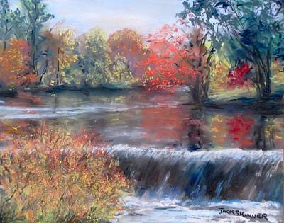 Painting - Charles River, Natick by Jack Skinner
