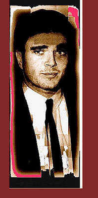 Charles Smitty Schmid Out Of Makeup Tucson Arizona 1966-2008 Art Print