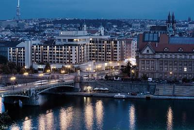 Photograph - Charles University   Intercontinental Hotel Prague_tonemapped_tonemapped by Isaac Silman