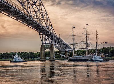 Unicorn Dust - Charles W. Morgan - Bourne Bridge - Approach by Black Brook Photography