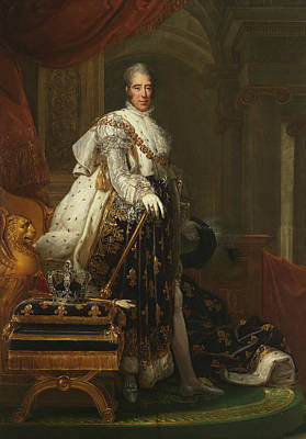 Painting - Charles X Of France by Francois Gerard