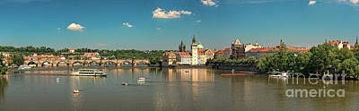 Photograph - Charlesbridge by Joerg Lingnau
