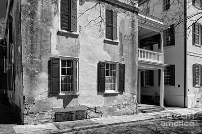 Photograph - Charleston In Black And White by Dale Powell